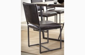 Plaza Warm Acacia Side Chair Set of 2