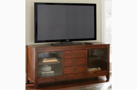 Davenport Medium Brown Media Console