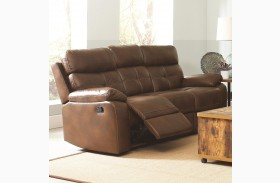 Damiano Faux Leather Reclining Sofa