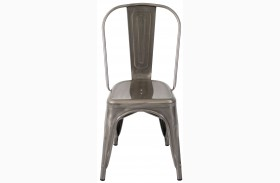 Oregon Silver Dining Chair