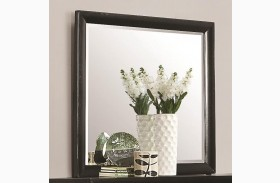 Delano Black Dresser Mirror