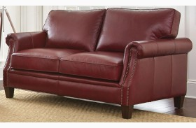 Dalton Leather Loveseat