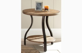 Denise Oak End Table