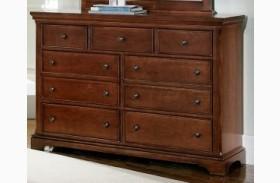 Forsyth Cherry 7 Drawer Dresser