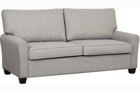 Track Dennison Grey Arm Sofa