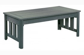 Stratford Slate Gray Coffee Table