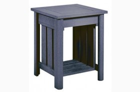 Stratford Slate Gray End Table