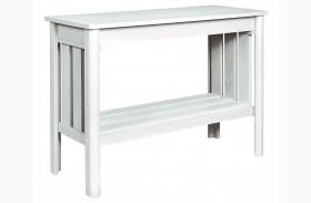 Stratford White Sofa Table