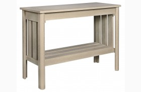 Stratford Beige Sofa Table