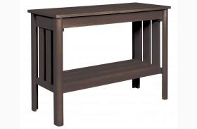 Stratford Chocolate Sofa Table