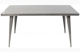 Austin Rectangular Silver Dining Table