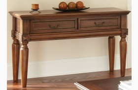 Davina Warm Cherry Sofa Table