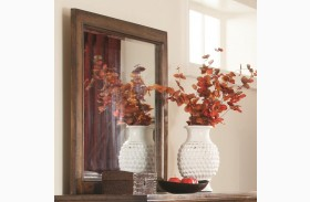 Elk Grove Vintage Bourbon Rectangular Dresser Mirror