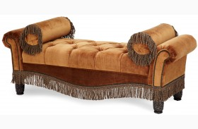 Essex Manor Tufted Two Arm Bench