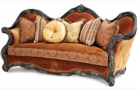 Essex Manor Wood Trim Sofa