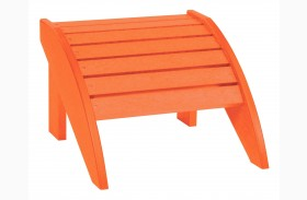 Generations Orange Footstool