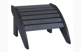 Generations Black Footstool