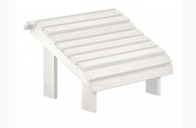 Generations White Premium Footstool