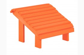 Generations Orange Premium Footstool