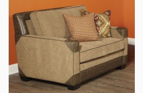 Fitzgerald Caramel and Ruby Multi Chair