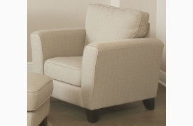 Park Central Taupe and Danube Chair