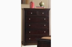 Forsyth Merlot 5 Drawer Chest