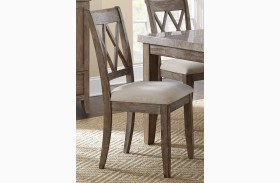 Franco Distressed Wash Dining Chair Set of 2