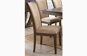 Gabrielle Medium Walnut Side Chair Set of 2