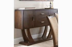 Gabrielle Medium Walnut Server
