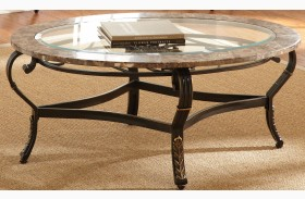 Gallinari Brown Marble Cocktail Table