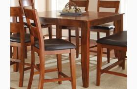 Mango Medium Brown Extendable Rectangular Counter Height Dining Table