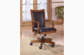 Cross Island Office Swivel Arm Chair