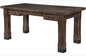 Pine Hill Rustic Pine Writing Desk