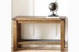 Hailee Industrial Sofa Table