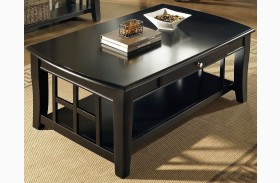 Cassidy Ebony Cocktail Table