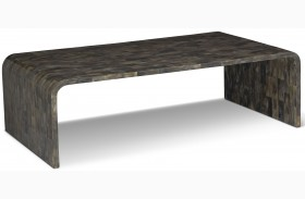 Hayden Black Horn Coffee Table