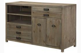 Parsons Sandalwood Credenza Desk