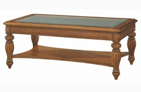 Grand Isle Amber Rectangular Cocktail Table