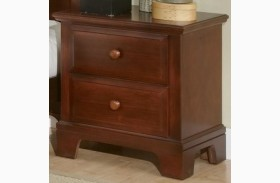 Hamilton/Franklin Cherry 2 Drawer Nightstand