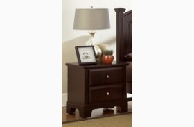 Hamilton/Franklin Merlot 2 Drawer Youth Nightstand