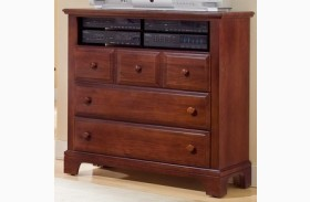 Hamilton/Franklin Cherry 3 Drawer Media Cabinet
