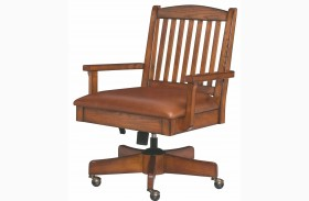 Sedona Mission Oak Desk Chair