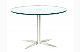 Havana-2-G Glass End Table