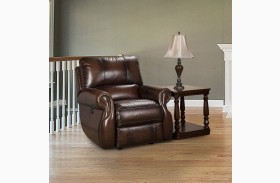 Hawthorne Brown Wipe Power Recliner