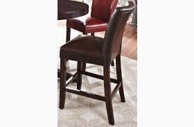 Hartford Brown Counter Chair Set of 2