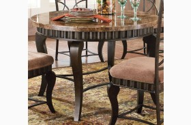 Hamlyn Spanish Brown Dining Table