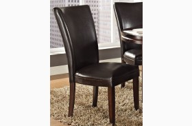 Hartford Brown Parsons Chair Set of 2