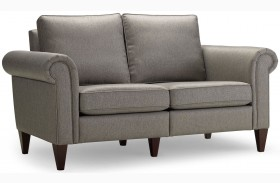 Avery Nickel Loveseat