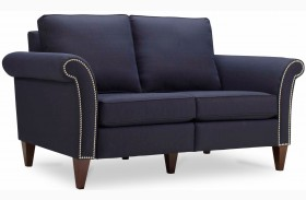 Pippa Midnight Blue Loveseat