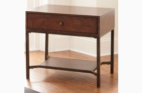 Hayden Medium Cherry End Table
